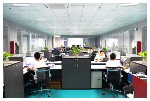 深圳西凡科技的办公环境
