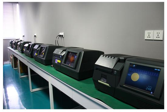 深圳西凡科技的产品陈列室
